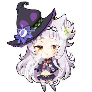 【非公式】紫咲シオン 70mm×70mm【アクリルキーホルダー】