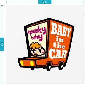 スパンキーベイビー! baby in the car
