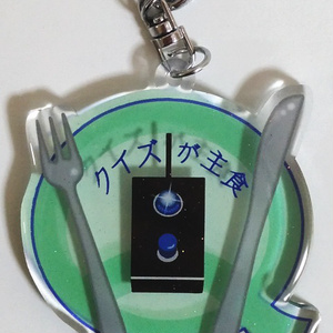 早押しボタンのアクリルキーホルダー(小ランプ)