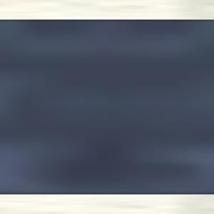 白い木枠の黒板フレームと白い木枠のフレーム