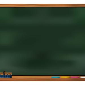 黒板のフレーム