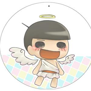 プラ版キーホルダー(天使十四松)