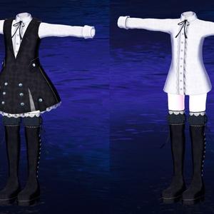 スキニング済み衣装セット『Doll's_Life』