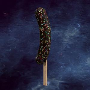 チョコバナナ(チョコスプレーマテリアル付き)