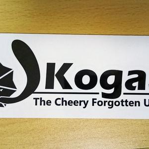 Kogasa カッティングステッカー