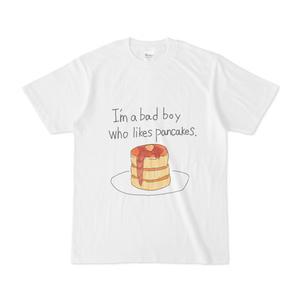 パンケーキが好きな悪い子Tシャツ