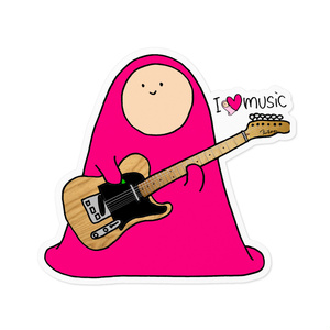 I love music - E.guitar