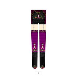 イチゴの国のネコの王様◆タイツ黒×紫