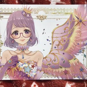 小春ちゃん太陽のドレスポストカード