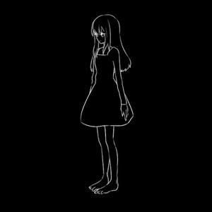 【単品】MelancholyGirl No.01【VJ素材】