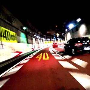 【単品】DriveTunnel_OhashiJCT【VJ素材】