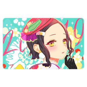 ICカードステッカー【着物少女2019】