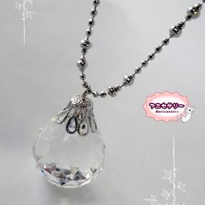 セーラームーン銀水晶モチーフネックレス