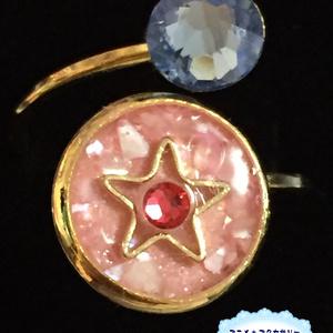 セーラームーン クリスタルスター&銀水晶 モチーフリング