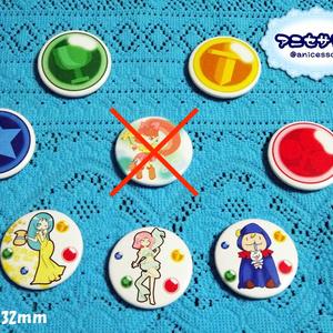 マジカルドロップ 缶バッチセット(2種)