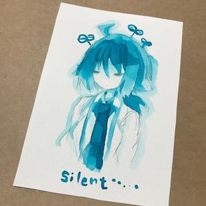 L判原画「silent」