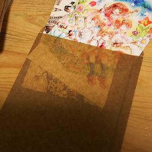茶色工房。漫画展ポストカードセット