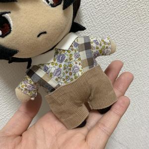 チェックサロペット【ぬい服】