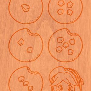 ウタカゼ フィノ師のどんぐりクッキーダイス