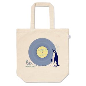 ペンギンレコード(ブルーグレー)トートバッグ