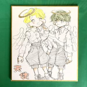 天使(鉛筆)