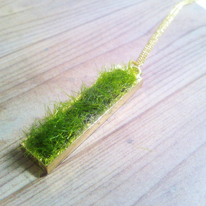 芝生のネックレス(全2サイズ