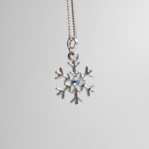 雪のネックレス(選べるオプション)
