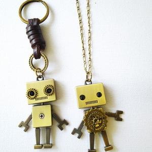 アンティークロボット(ネックレスかキーホルダーか選べます
