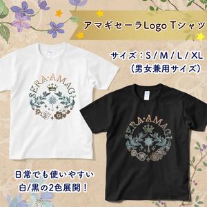 [グッズ] アマギセーラLogo Tシャツ(白/黒)