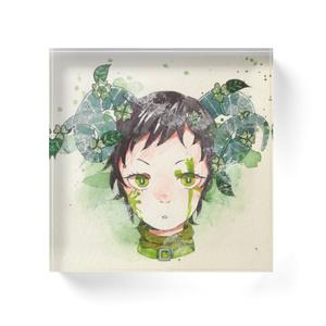 Trifolium(アクリルブロック)
