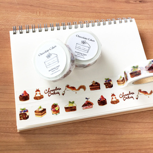 Chocolate Cakes masking tape