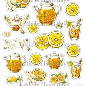 2月再販◆マスキングシール-Grapefruit Tea