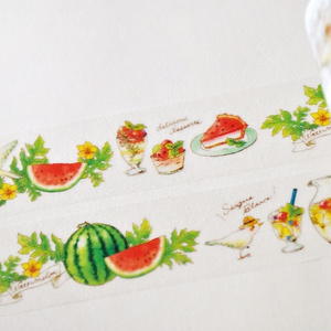 Watermelon masking tape