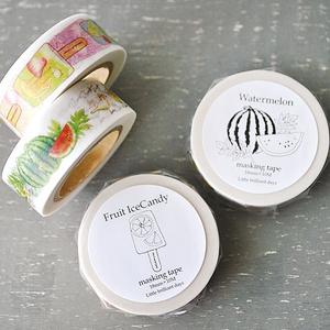 Fruit Icecandy masking tape