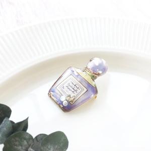 母の日 Perfume brooch 香水瓶ブローチ