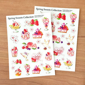 マスキングシール-Spring Sweets Collection