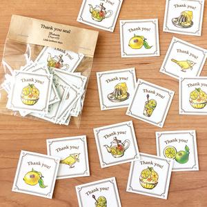 "Thank you seal ""Lemon&Lime""【35枚入り】"