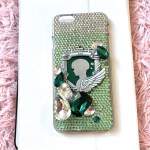 【iphone6ケース】ストーンデコ リヴァイ モデル