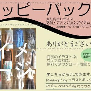 ハッピーパック 衣類 ファッションアイテム 女性向け レディス (送料込み12000円・25100円・39000円)