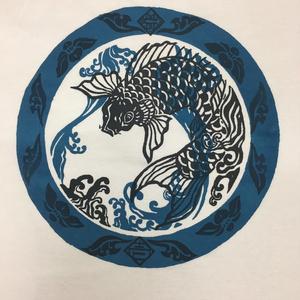 [ 送料込 ] みとせライヴTシャツ「カレー行脚『壱ノ皿』」(波に鯉)