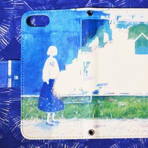 「君を染める色」iPhone手帳型ケース