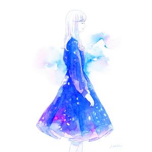 「星空のワンピース」原画