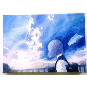 「aozora」原画