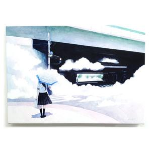 「雲の通行路」原画