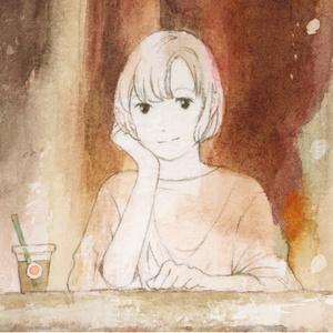 「茶の間」原画