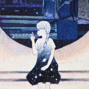 「夜の秘密」原画