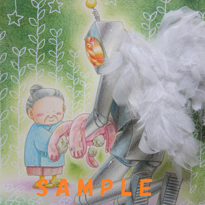 イラスト 「天使のおしごと」