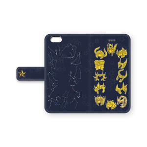 聖闘士星矢iPhoneケース(手帳)