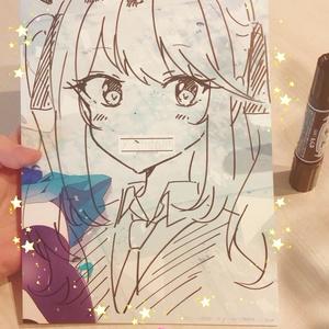【エアコミティア】ぼっくん直筆サイン入り同人誌(漫画)