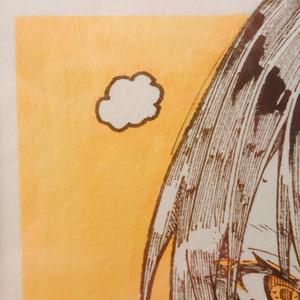 【オタクアート】「呼吸困難-Fall in love-」(一点物/額付き)